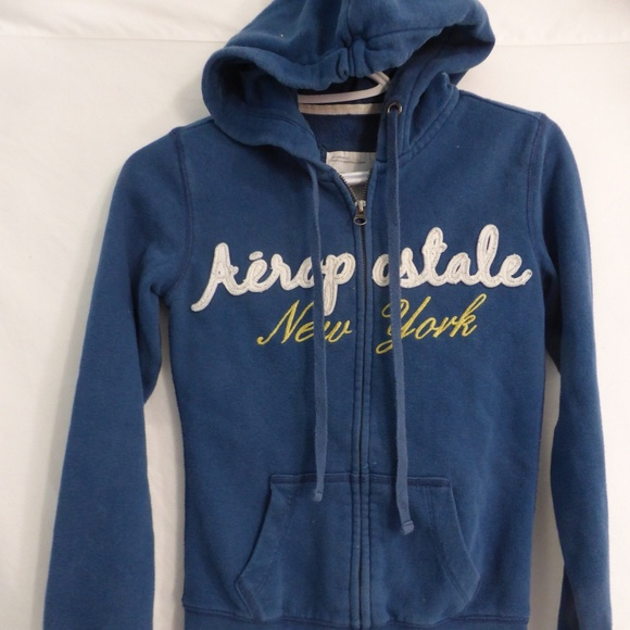 AEROPOSTALE long sleeve zip up sweatshirt hoodie